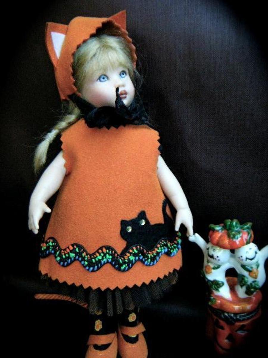 Madame Alexander Pumpkin Doll