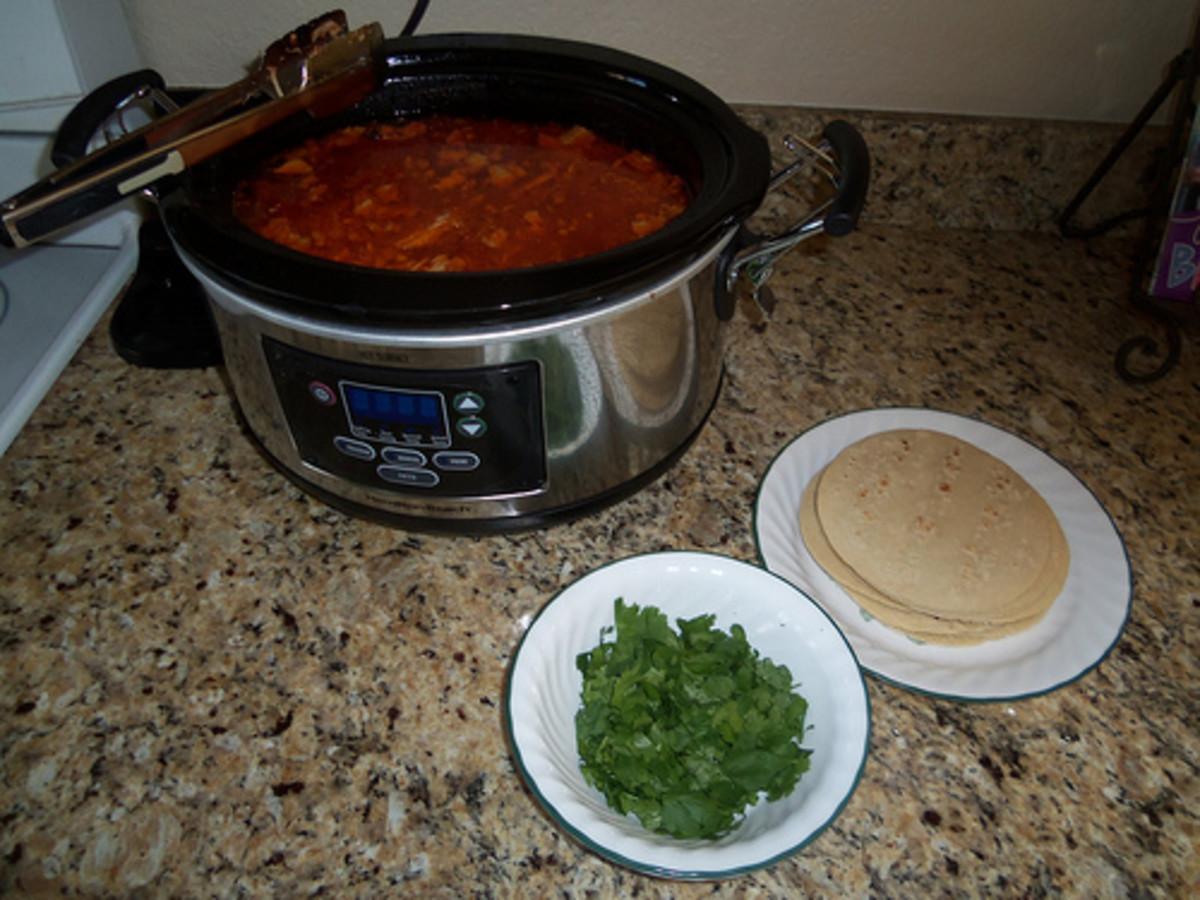 Homemade Pastor Street Tacos. Click for the recipe.