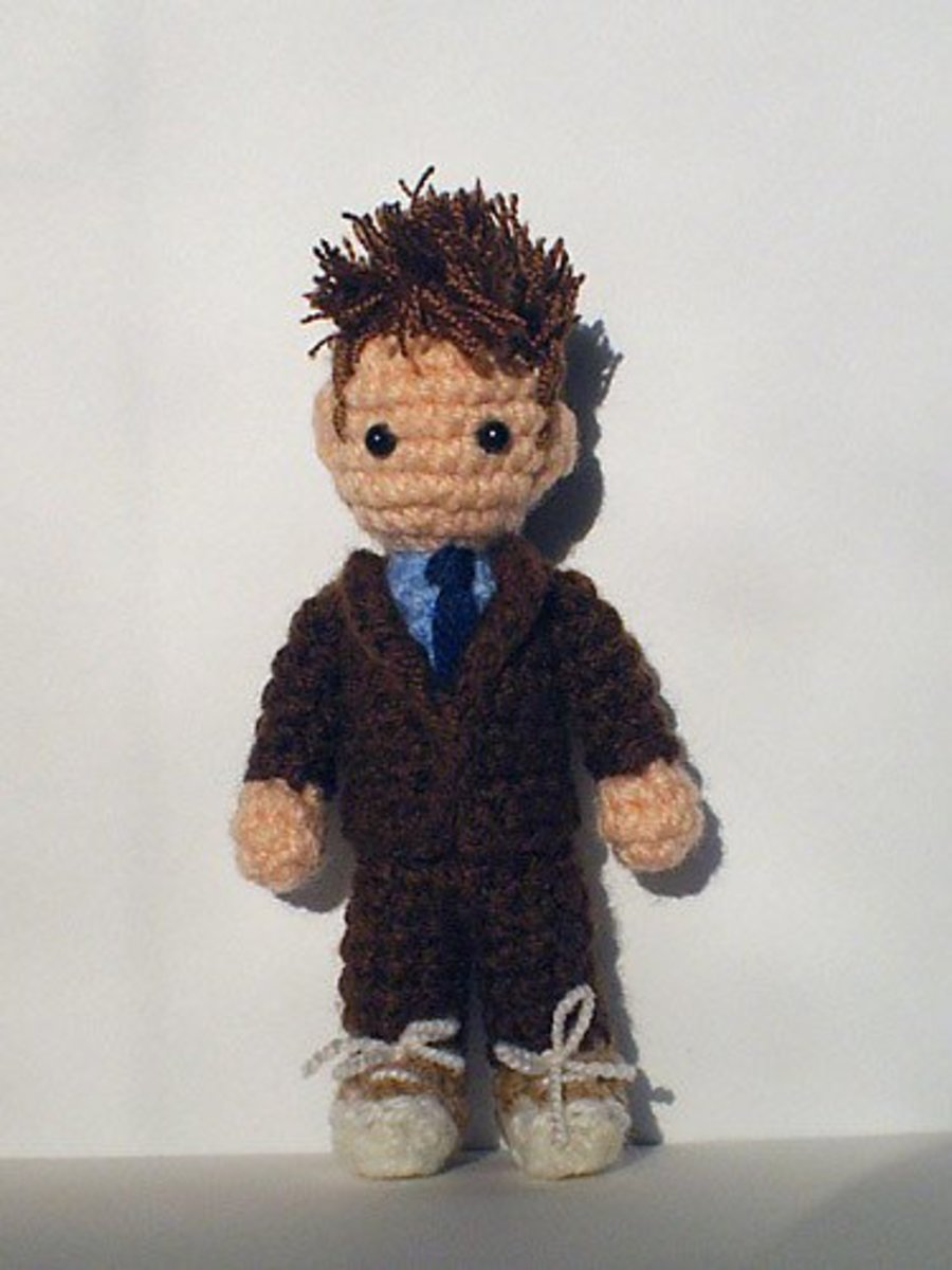 PDF Cyberman Doctor Who Amigurumi doll Crochet Pattern | Etsy | 500x375