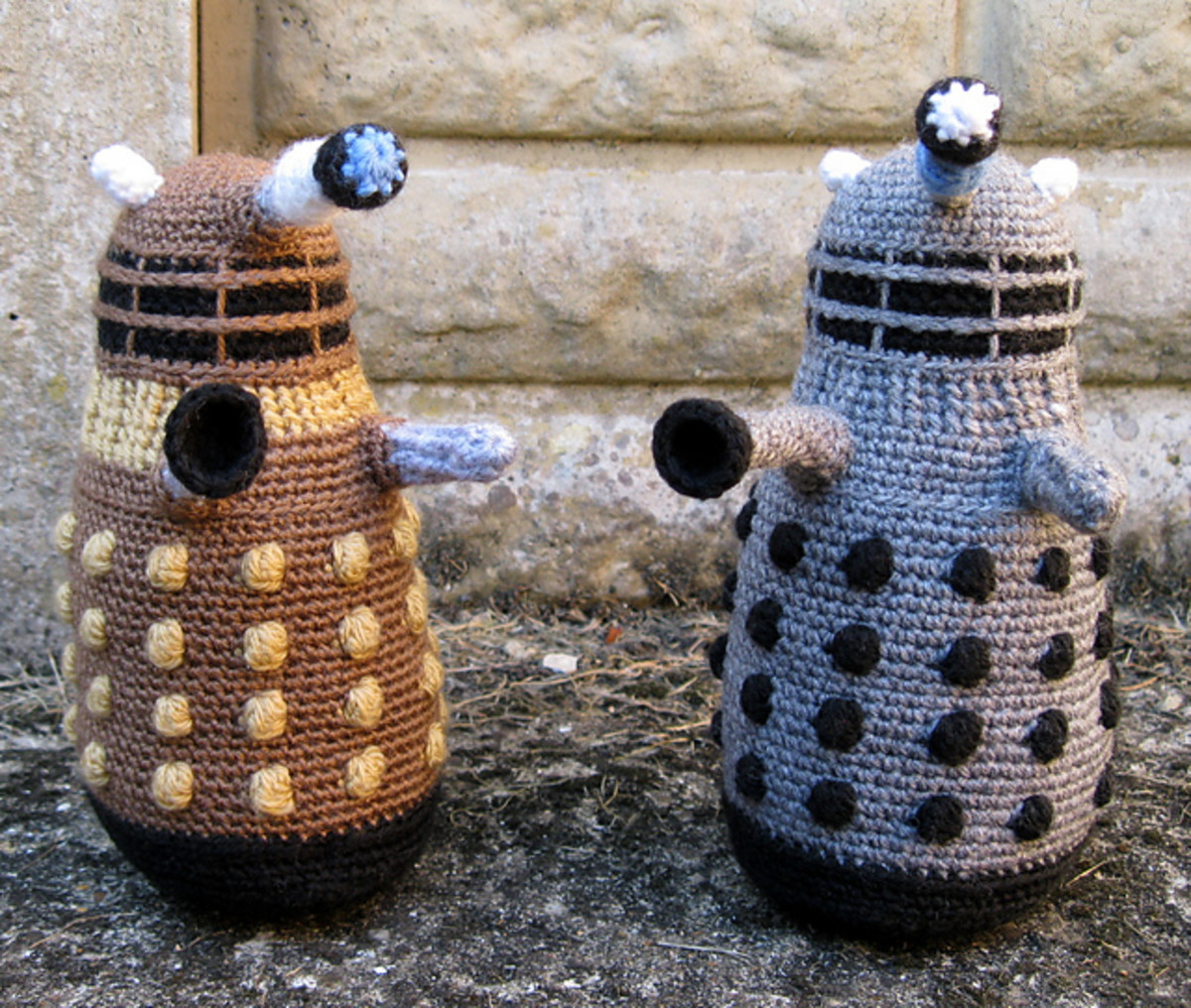 Classic 1970's Daleks