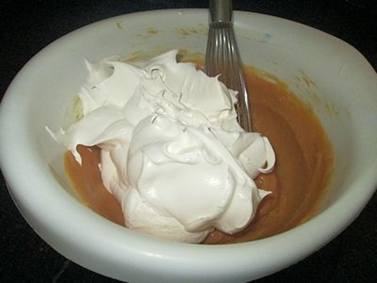 Fold in whipped topping