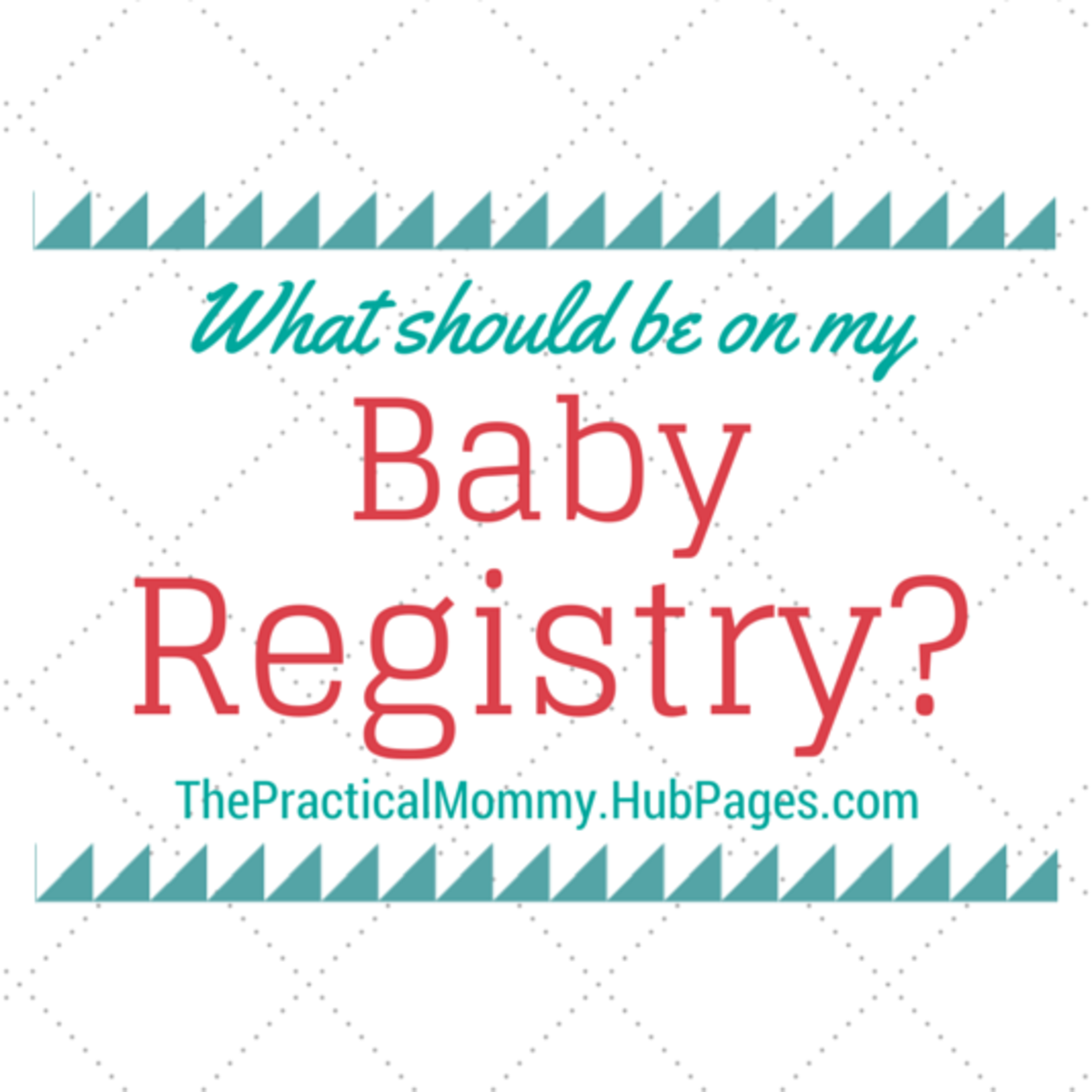 What Should I Put on My Baby Registry?
