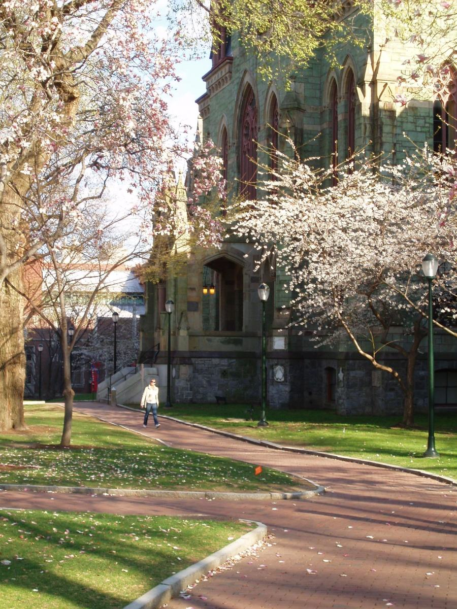 College Hall on the University of Pennsylvania Campus