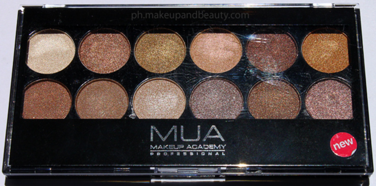 earth tone eye shadow pallet
