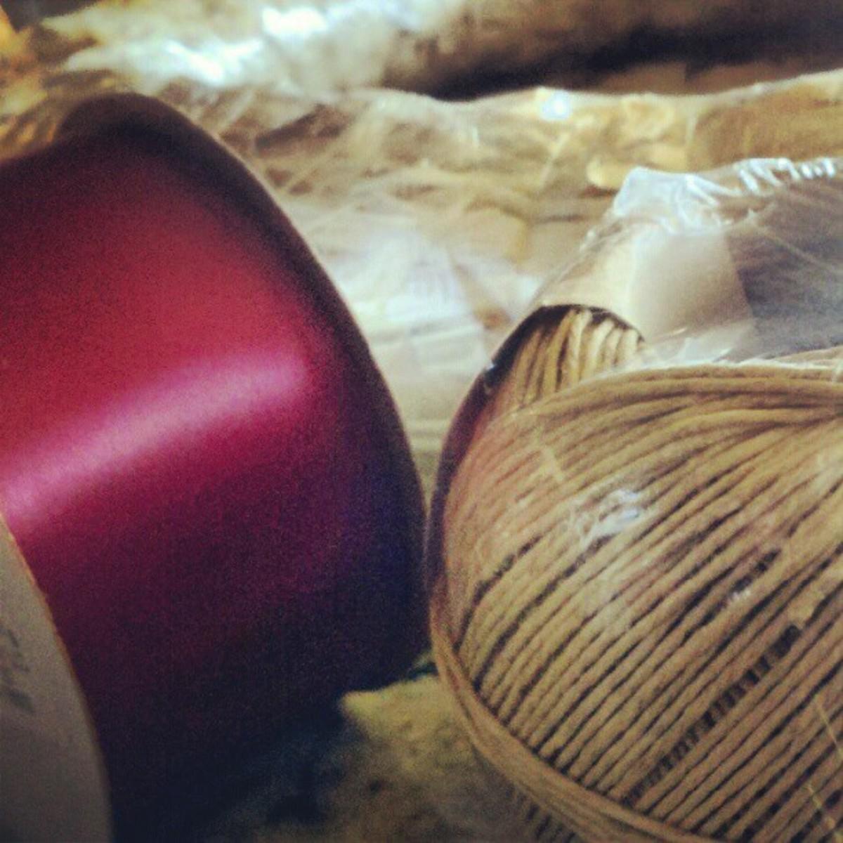 Supplies for cork wreath