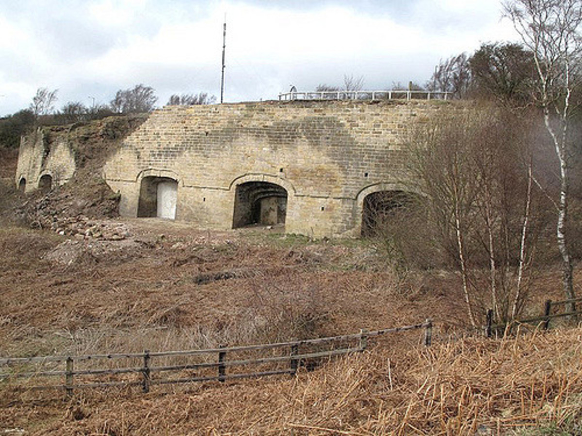 Another reminder of Consett area's industrial past from the era of the later Industrial Revolution is Bantling Lime Kilns. Lime was used not only as a natural agricultural fertliser but also an industrial chemical for steelmaking amongst others