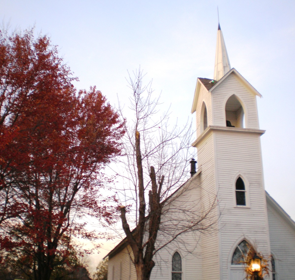 """Coldwater Road Chapel"", located in Crossroads Village."