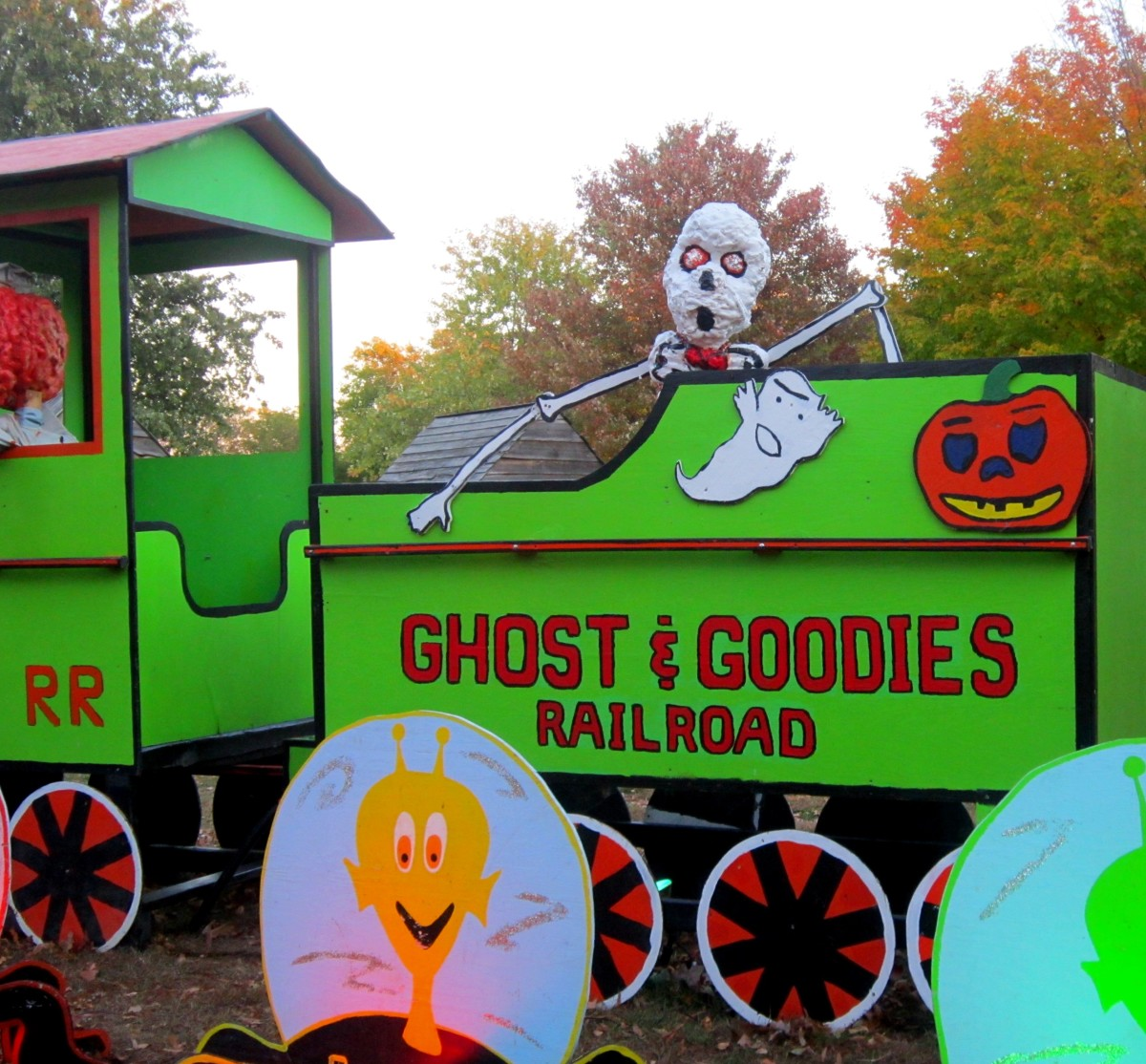 Old-Fashioned Halloween at Crossroads Village in Michigan