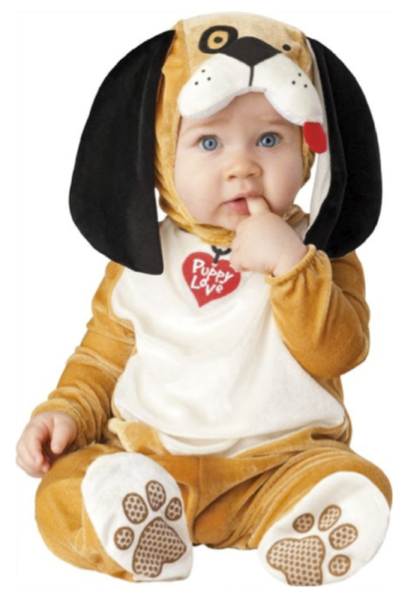 Puppy Costume is featured below