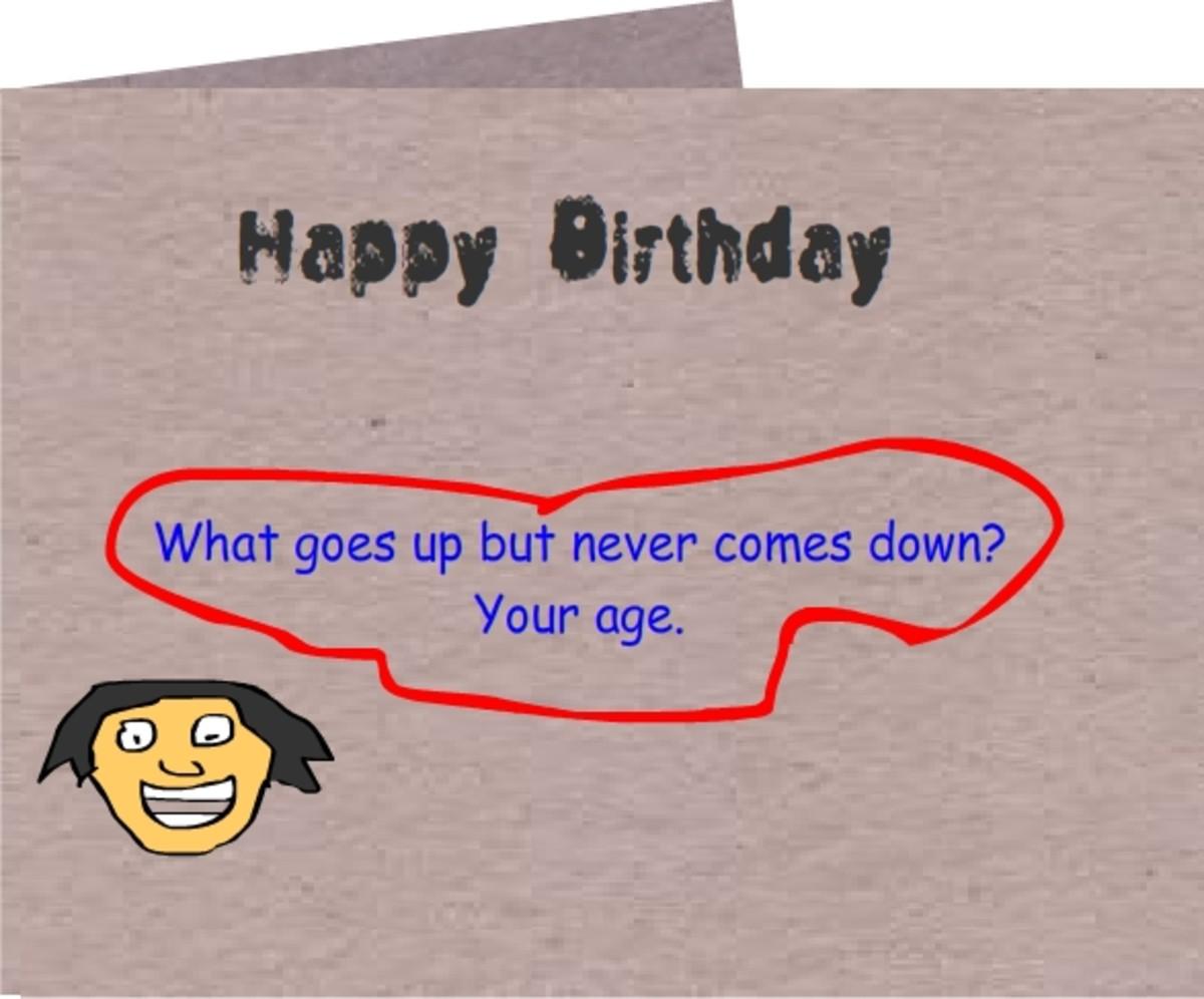 Funny Happy Birthday Card for a friend