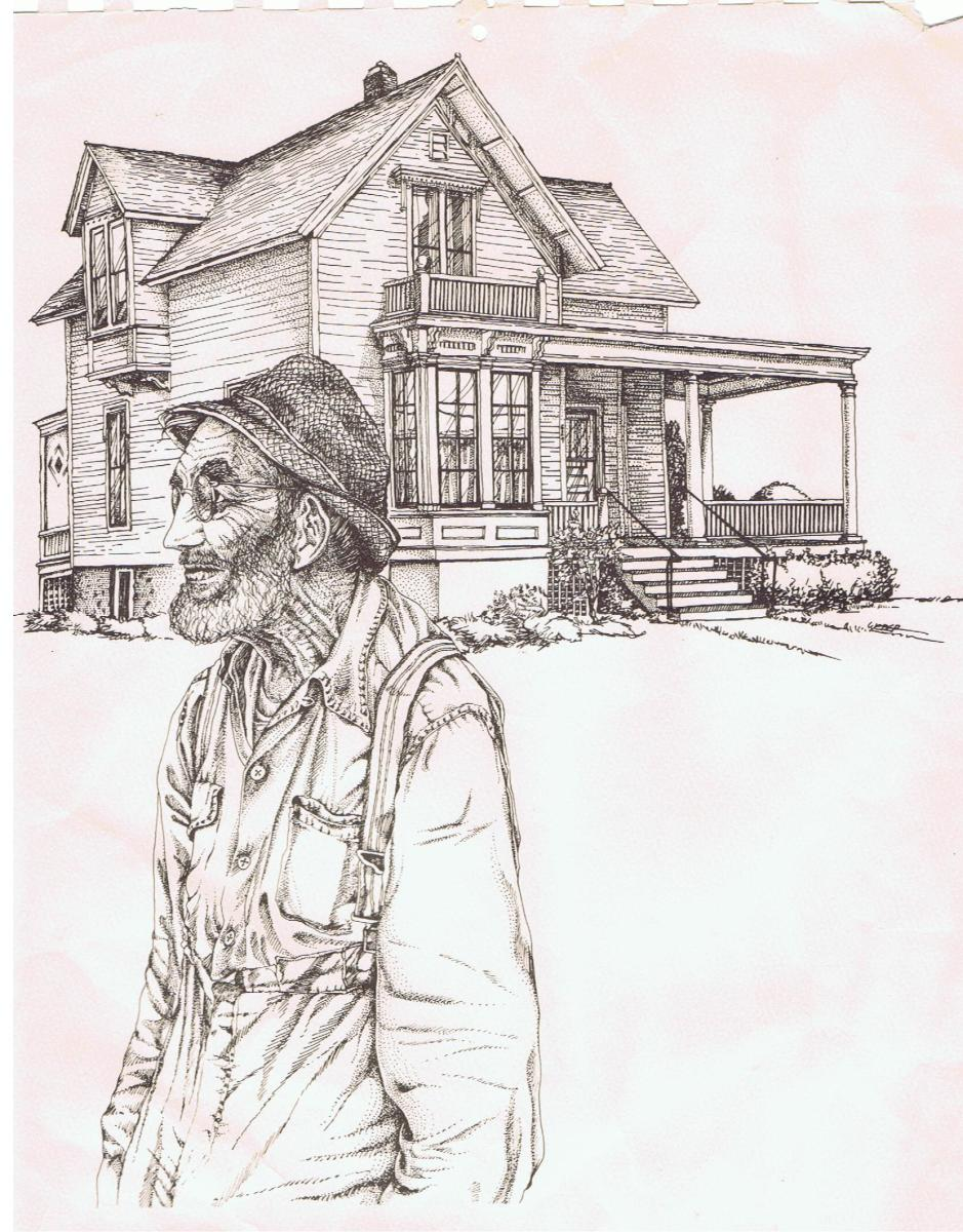 Drawing of Old House
