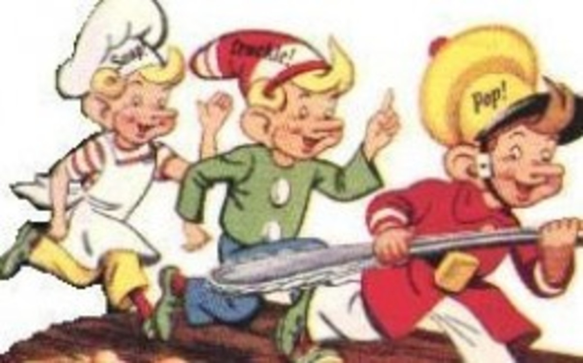 They start looking more like the current Krispies trio here