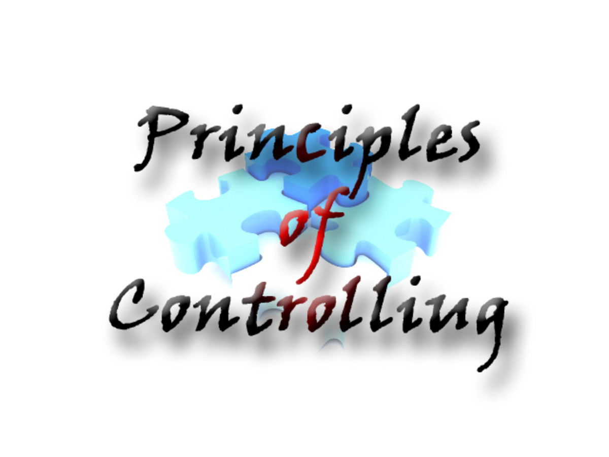 Principles of Controlling