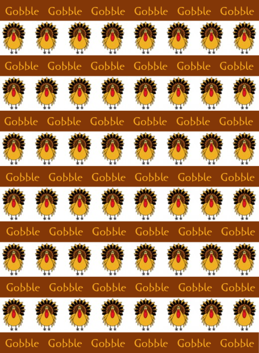 Turkeys Gobble Gobble
