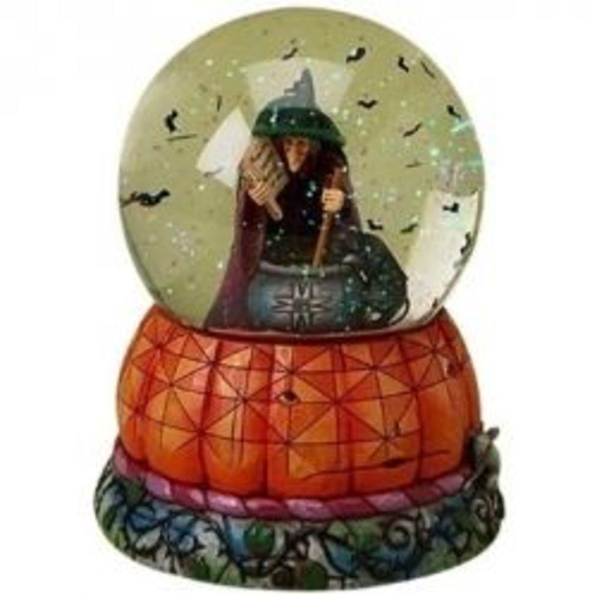 Halloween Snow Globes