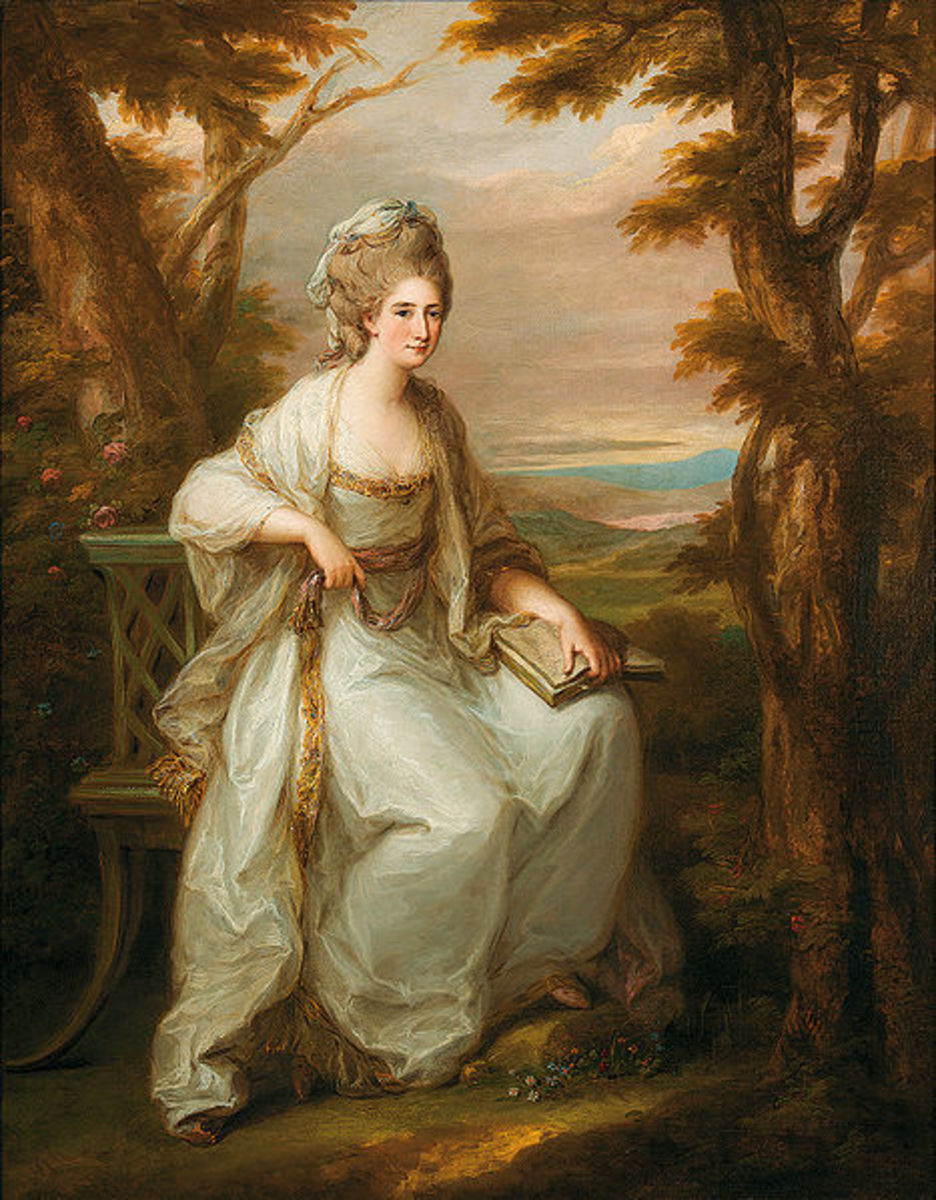 This Portrait of Lady Henderson of Fordell (1771) is in the public domain in the United States and those countries with a copyright term of life of the author plus 100 years or less.