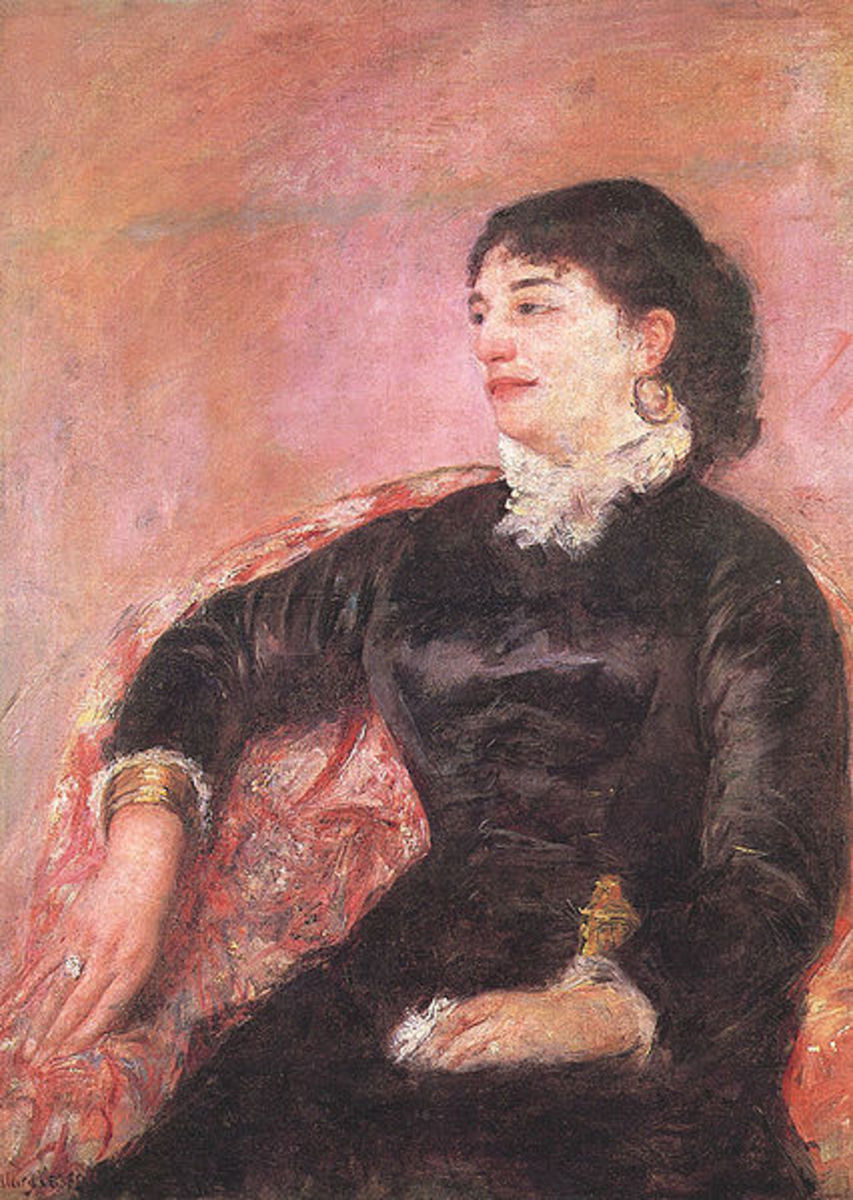 Portrait of an Italian Lady (1878) is in the public domain in the United States and those countries with a copyright term of life of the author plus 70 years or less.
