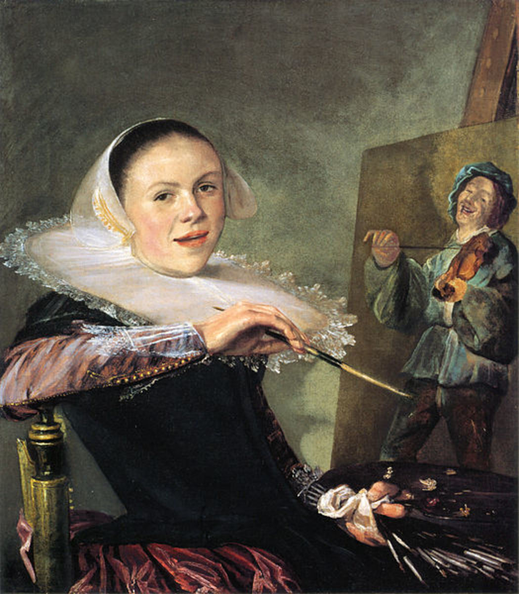 This Self-Portrait is in the public domain in the United States and those countries with a copyright term of life of the author plus 100 years or less.