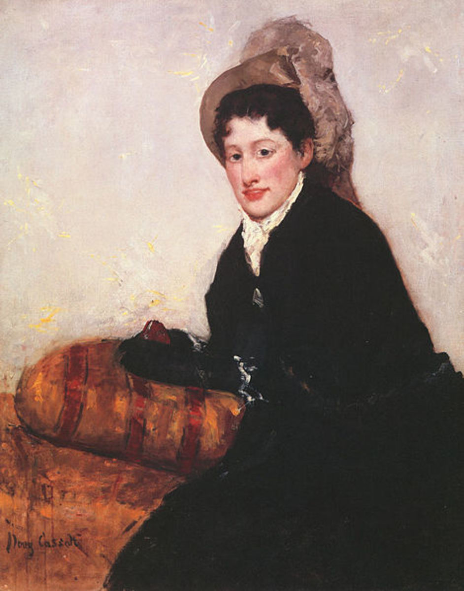 Portrait of a Woman (1878) is in the public domain in the United States and those countries with a copyright term of life of the author plus 70 years or less.