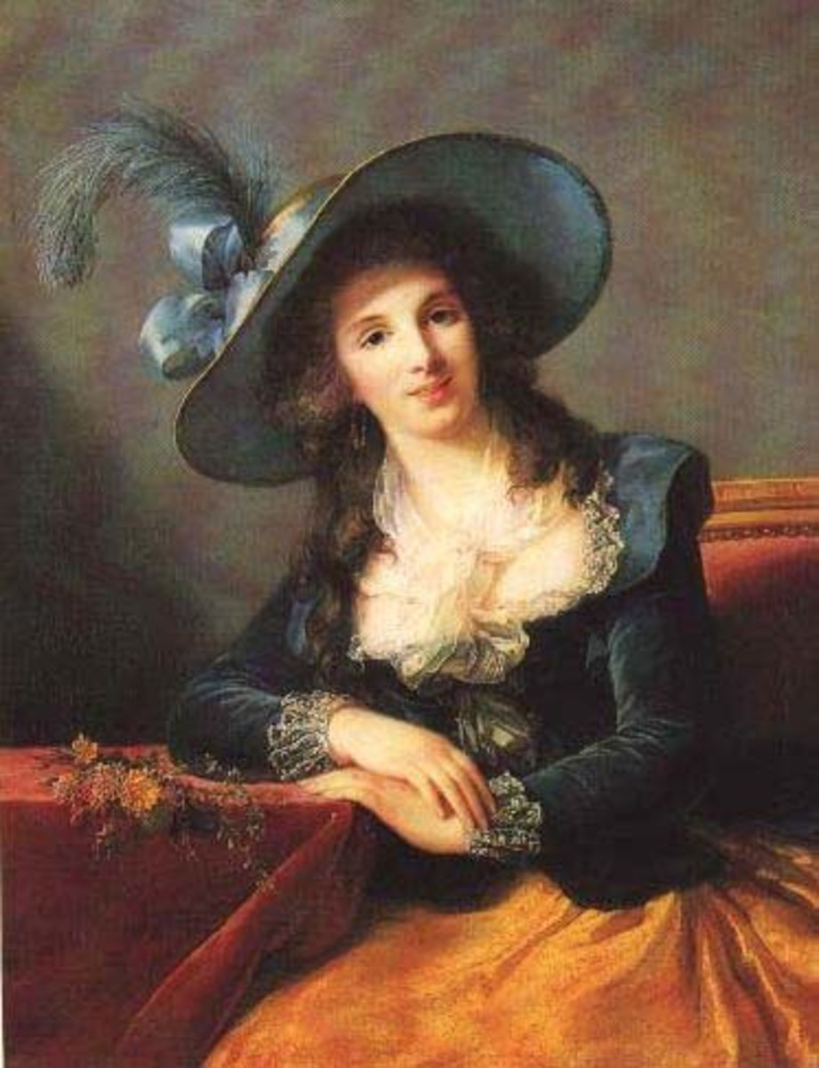 Portrait of Antoinette-Elisabeth-Marie d'Aguesseau, Countess of Ségur (1785) is in the public domain in the United States and those countries with a copyright term of life of the author plus 100 years or less.