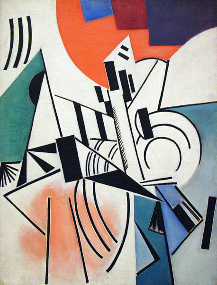 Suprematism (1916) is in the public domain in the United States and those countries with a copyright term of life of the author plus 70 years or less.