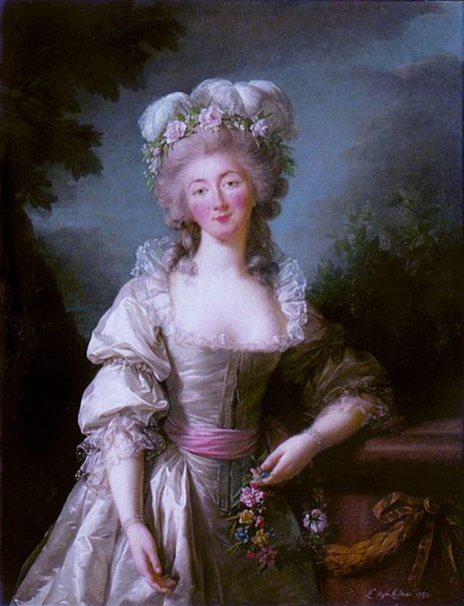 Portrait of Madame du Barry (1782) is in the public domain in the United States and those countries with a copyright term of life of the author plus 100 years or less.