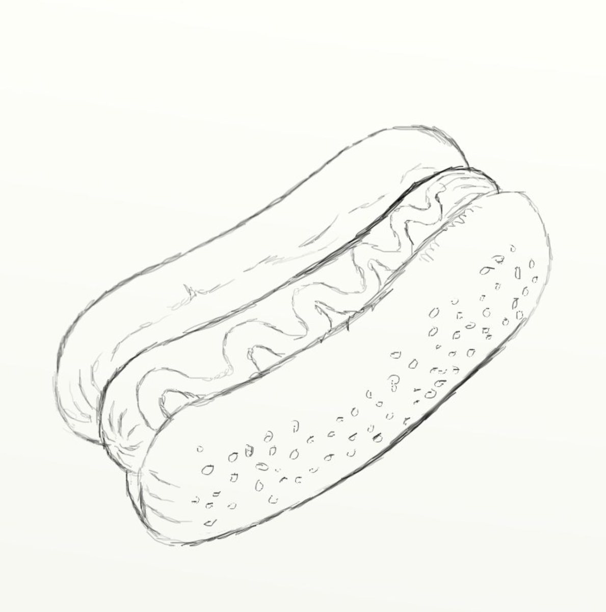 how to draw a hot dog hubpages
