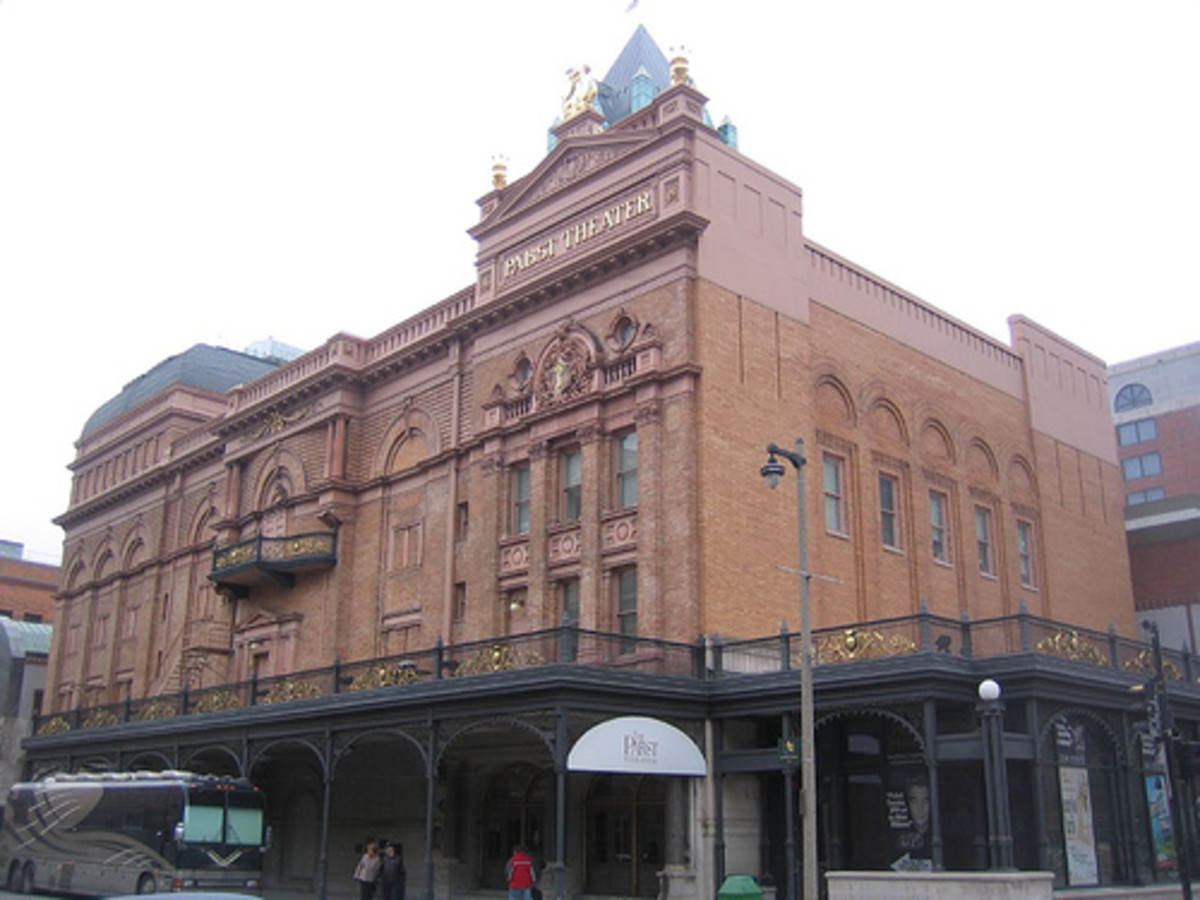 The historic Pabst Theater in Milwaukee.