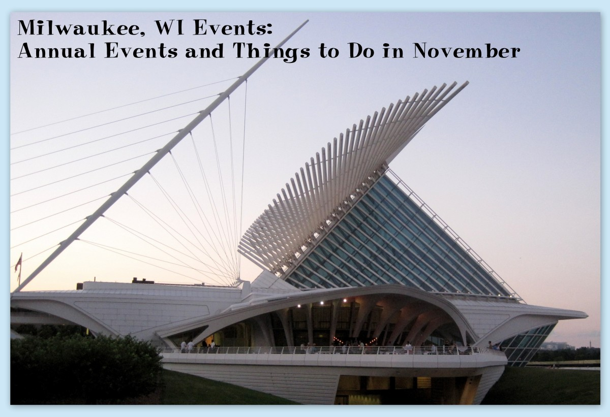 Check out the current exhibits at the Milwaukee Art Museum and consider attending their monthly Museum after Dark event.