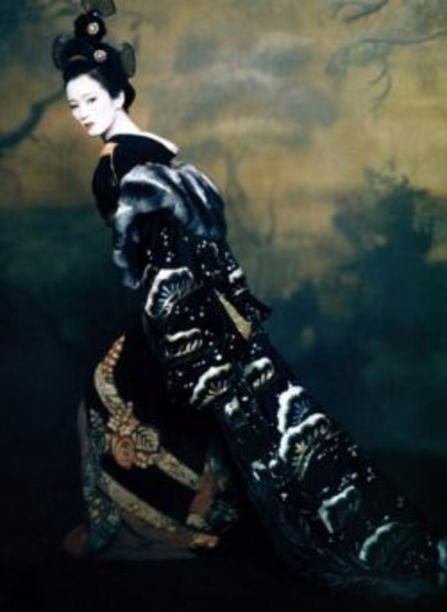 Li Gong as Hatsumomo from Memoirs of a Geisha