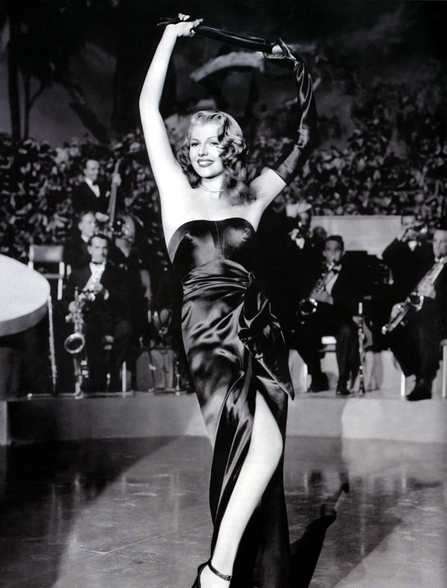 Rita Hayworth as Gilda from Gilda
