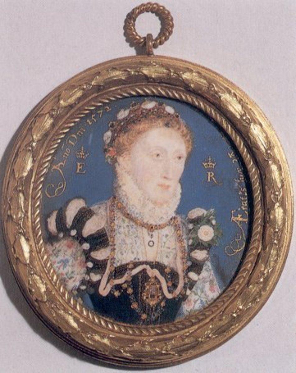 Queen Elizabeth I of England by Nicholas Hilliard.