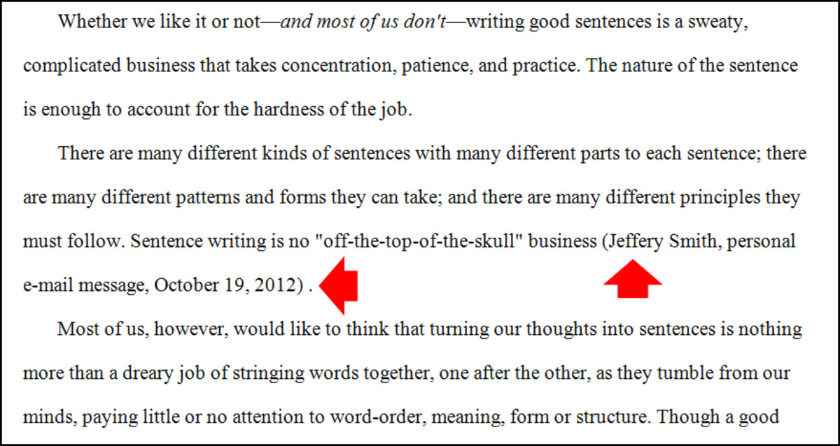 How do i use a quote in an essay?