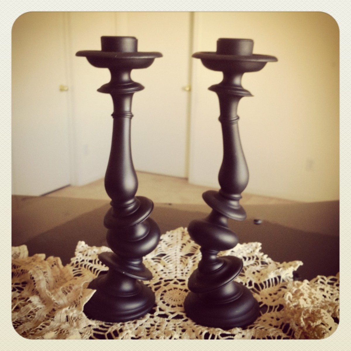 Candlesticks and Holders