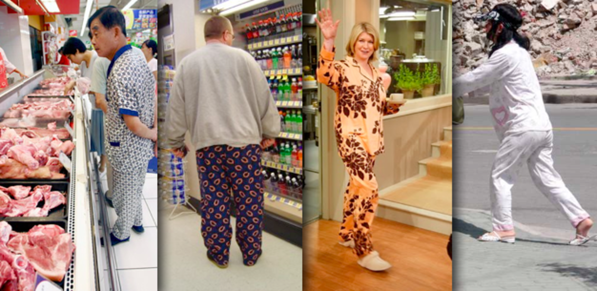 2012: Study shows more people are wearing pajamas