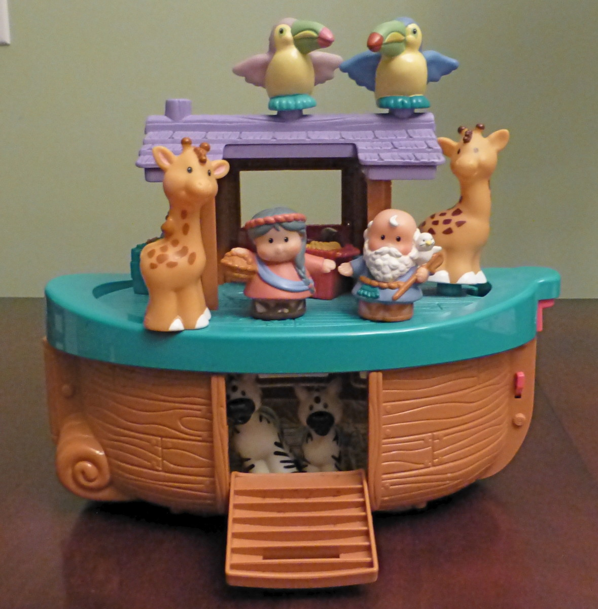 Kids love to act out the story of Noah's Ark after reading about it.