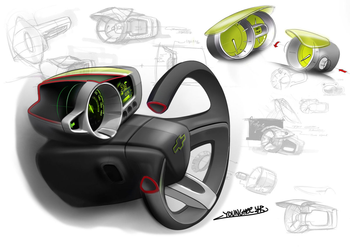 Car sketch interior design hubpages - Car interior design ...