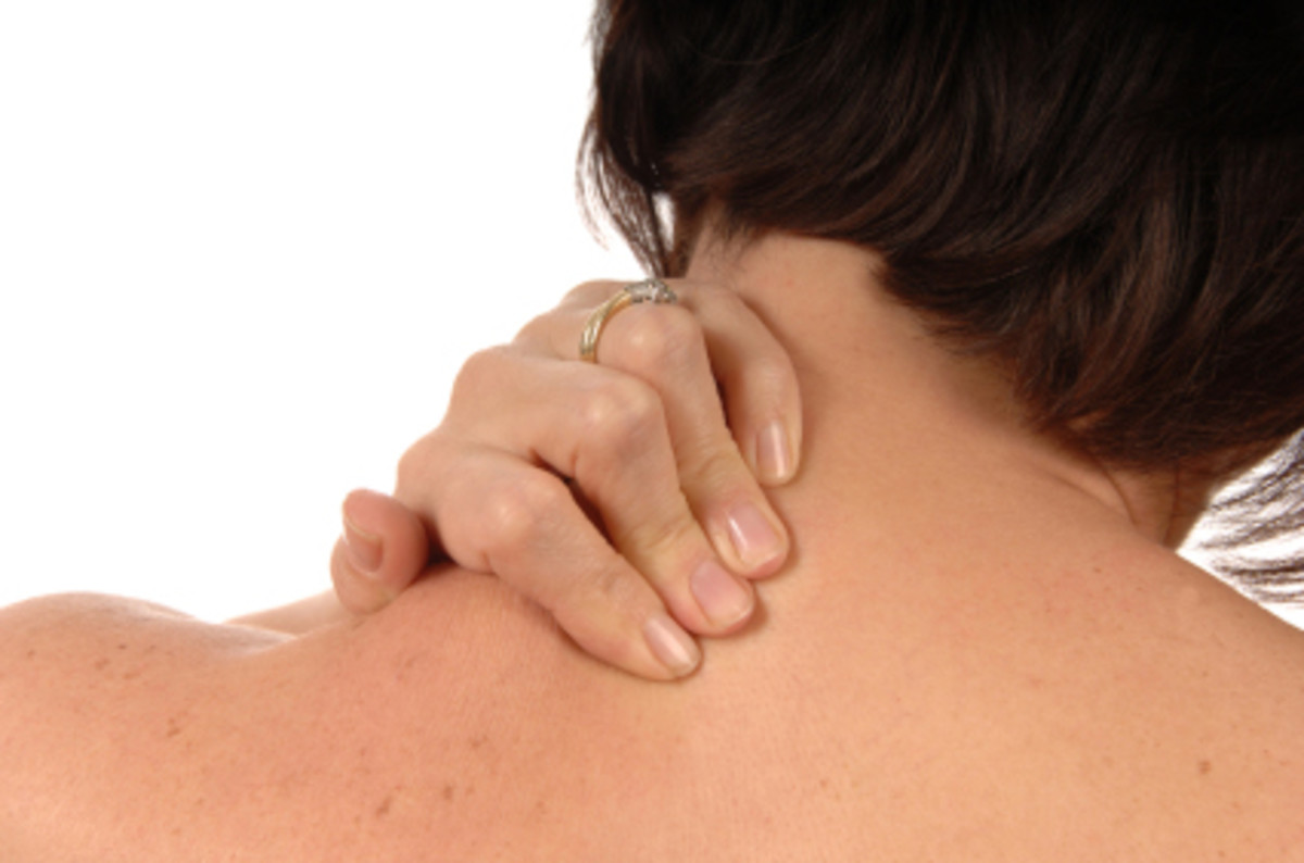 How to Treat a Muscle Spasm in your Neck and Upper back
