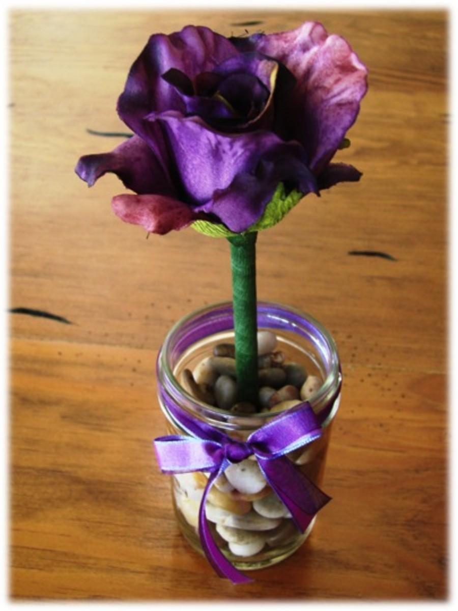 Flower Ink Pen Craft