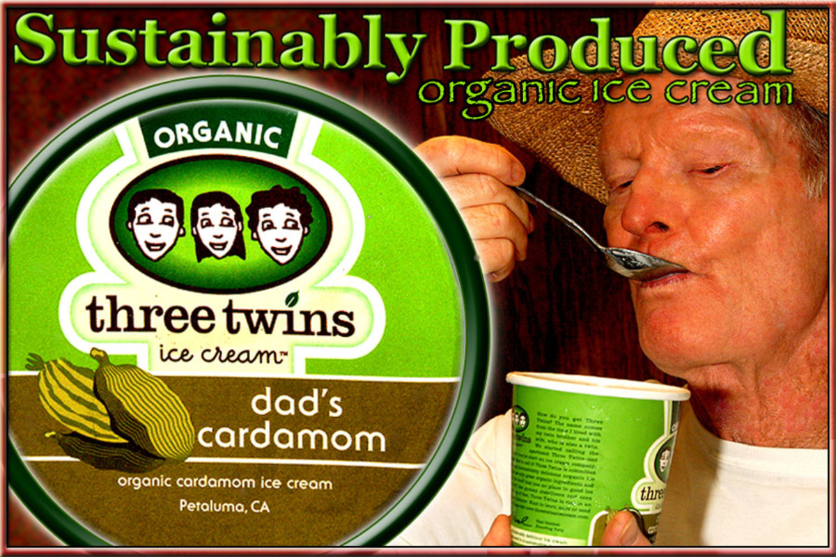 Three Twins Ice Cream is organically and sustainably produced in Petaluma, California!