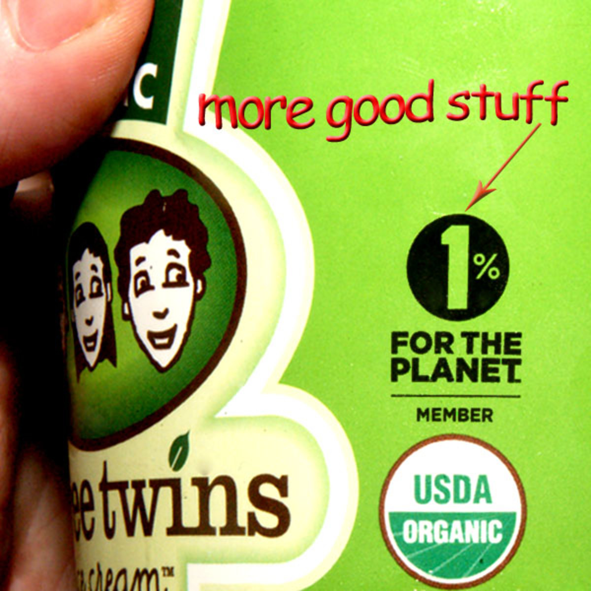 Earth-friendly ice cream makers!