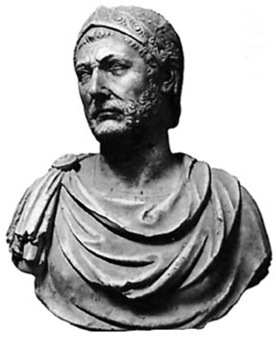 Hannibal, the legendary Carthaginian general who very nearly destroyed the fledgling Roman Empire.