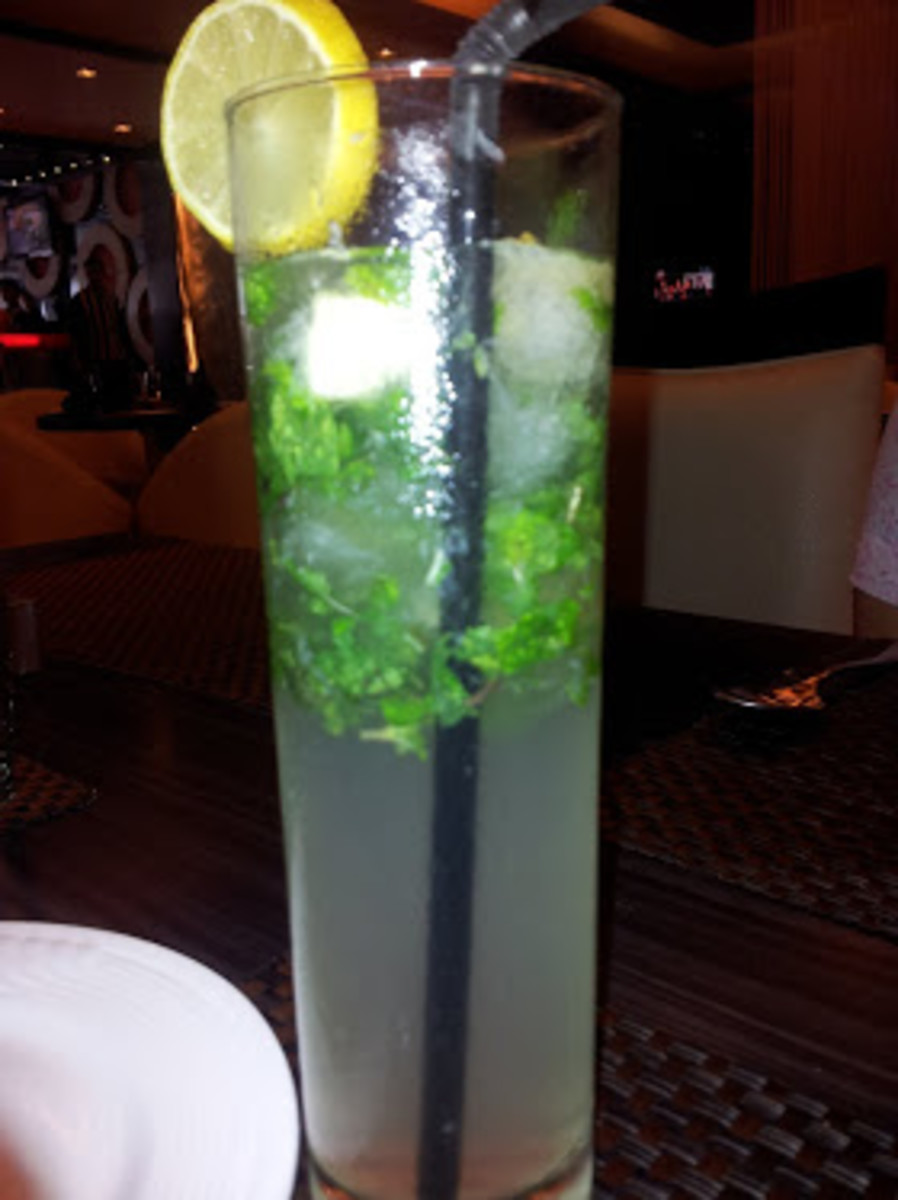 Favorite mocktail: Virgin Mojito at Gola Sizzlers New Delhi, India