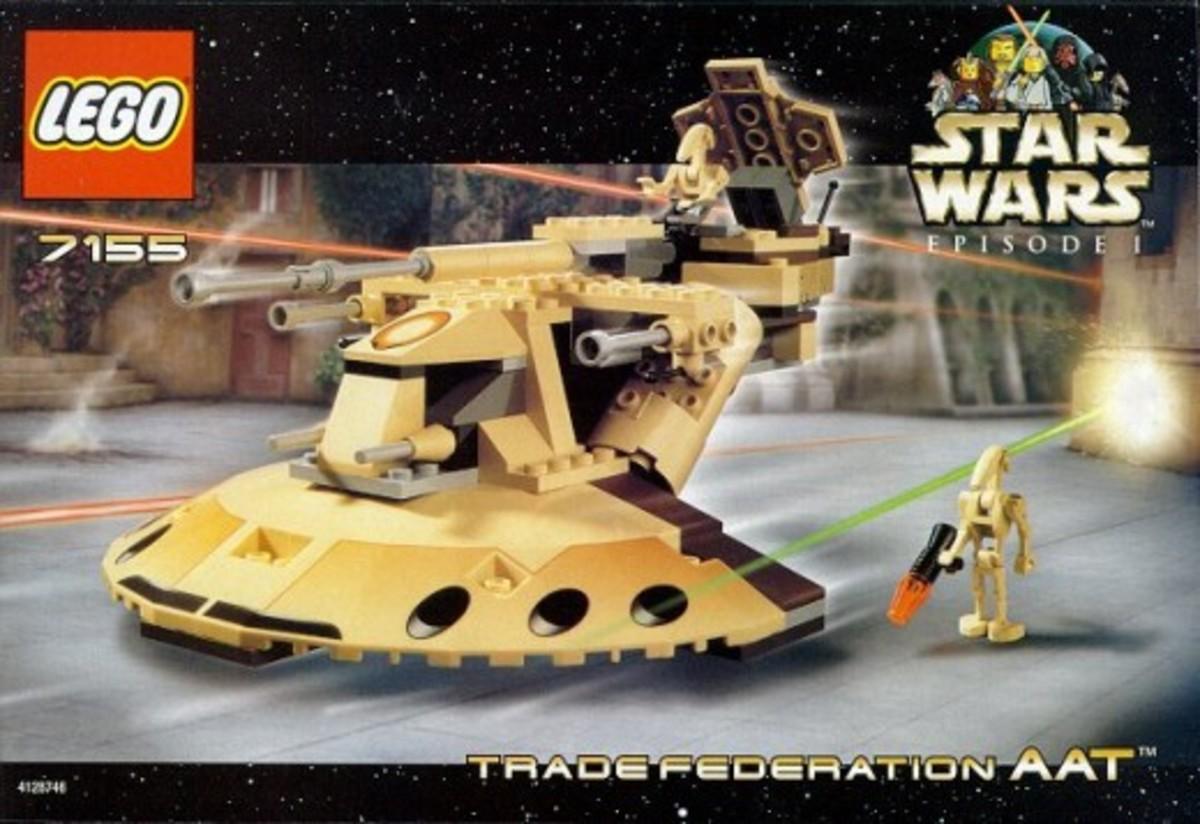 Lego Star Wars Trade Federation AAT 7155 Box