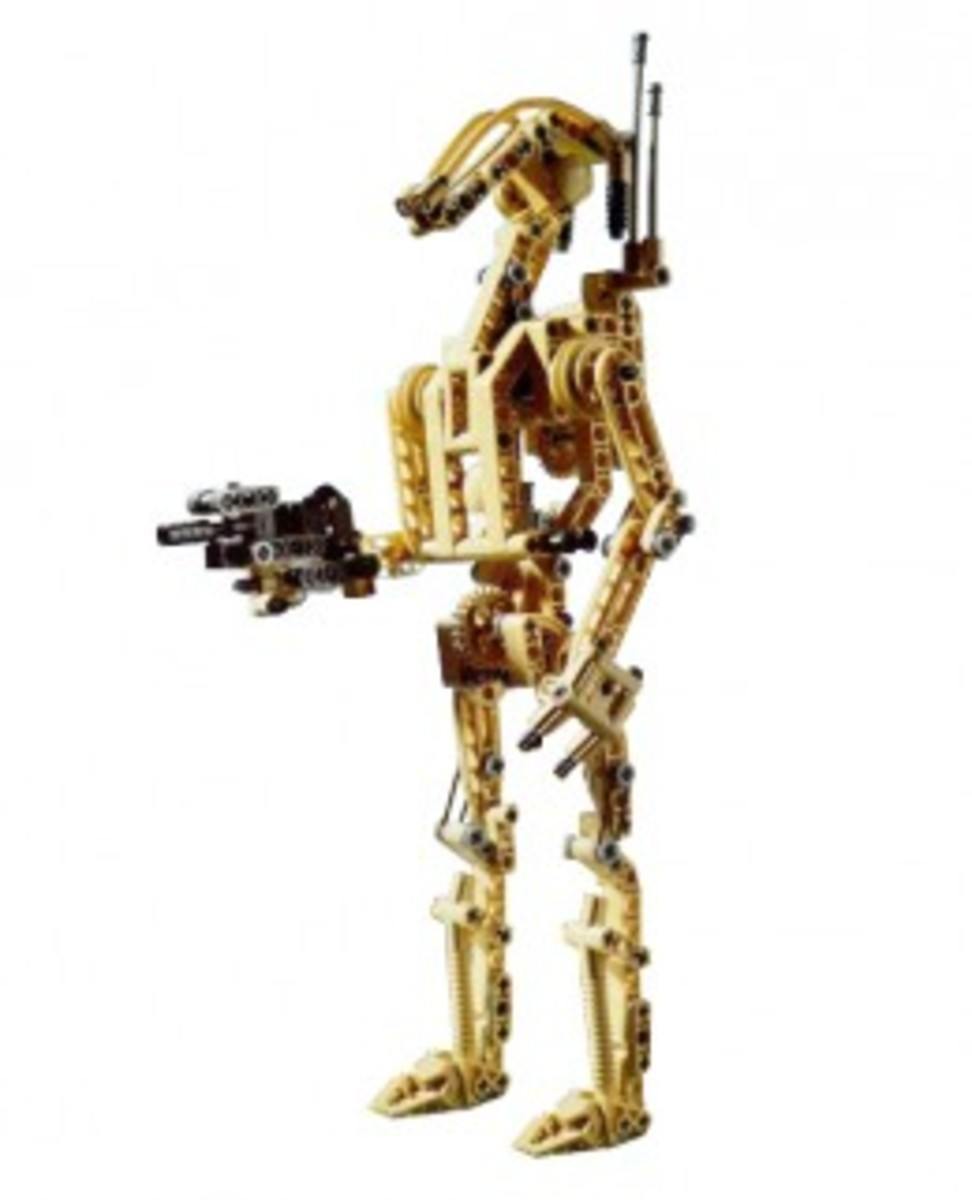 Lego Star Wars Battle Droid 8001 Assembled