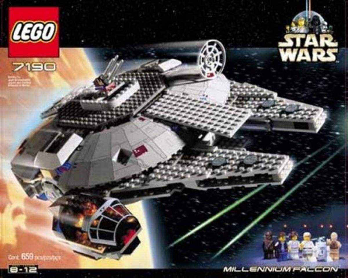 Lego Star Wars Millennium Falcon 7190 Box