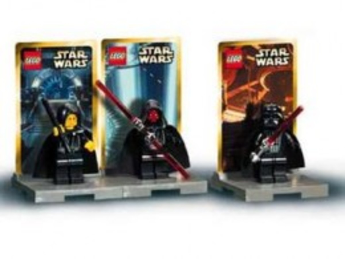 Lego Star Wars #1 3340 Minifigures Assembled