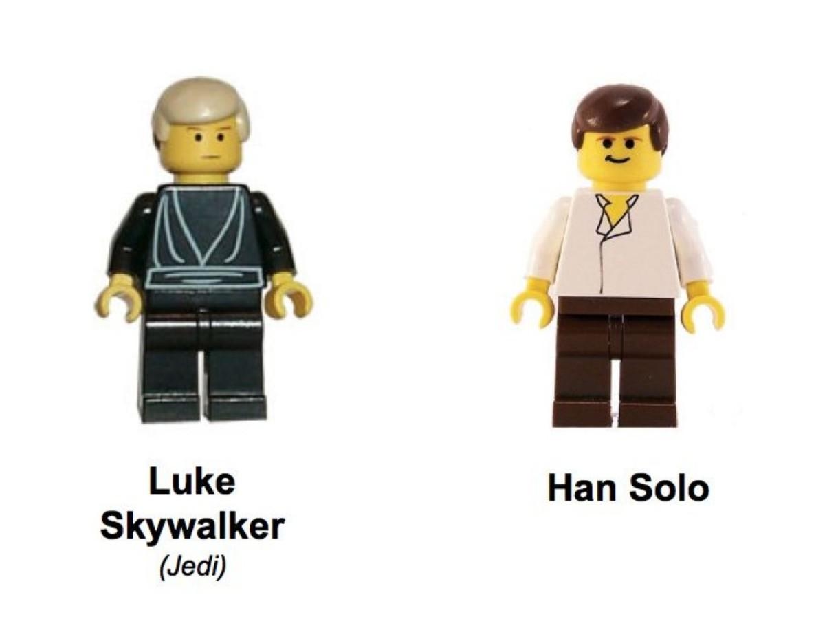 Lego Star Wars Desert Skiff 7104 Minifigures