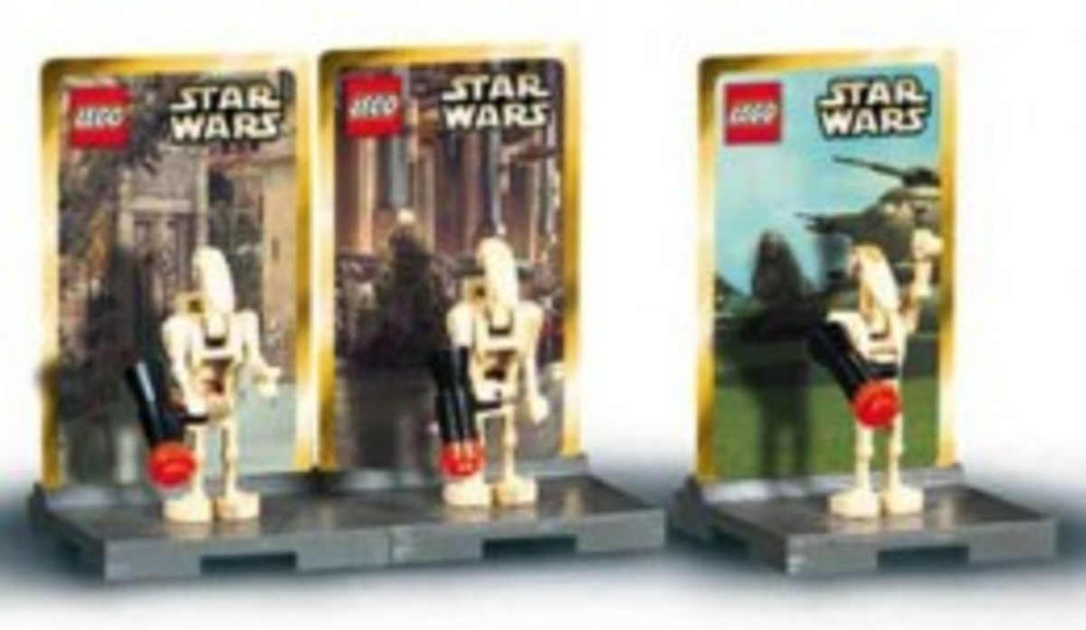 Lego Star Wars #4 3343 Minifigures Assembled