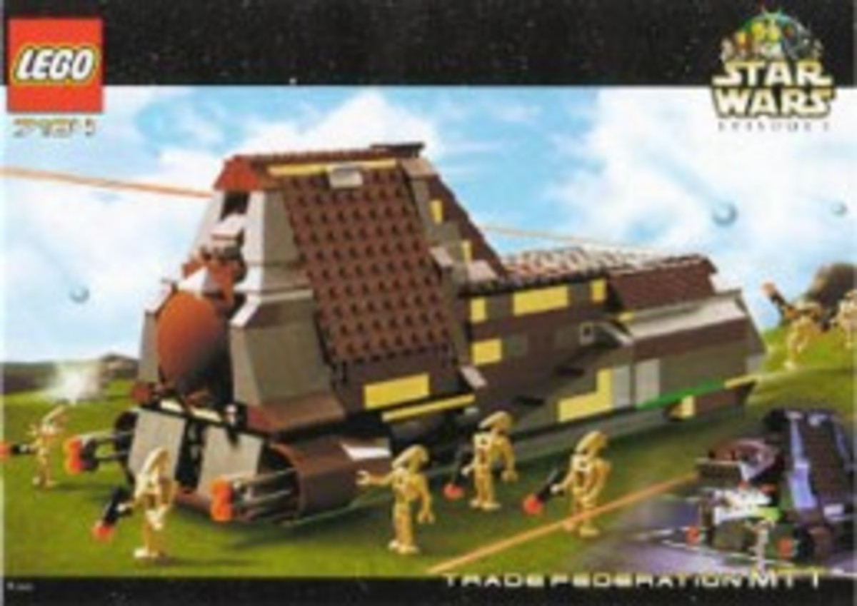 Lego Star Wars Trade Federation MTT 7184 Box